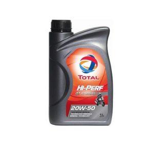 TOTAL HI-PERF минеральное 4T 20W50 1л